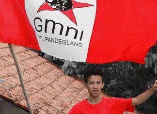 Ketua GMNI Pandeglang, Dean Bayu Pradana (Foto : Istimewa)