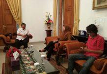 PASCA terjaring OTT terhadap oknum pegawai Disdukapil Pandeglang, Bupati Pandeglang, Irna Narulita Gelar Jumpa Pers.(Foto : Dendi/ Tuntas media)